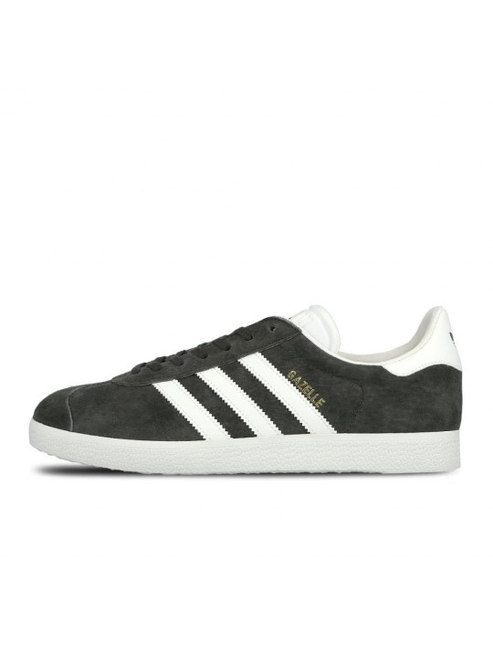Adidas Mens Gazelle Grey Trainers