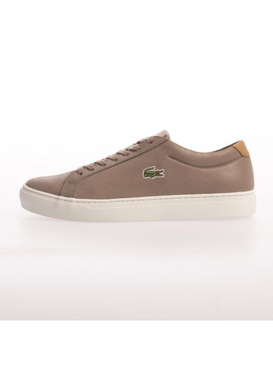 Lacoste Mens Alligator 417 2 SPM Light Brown