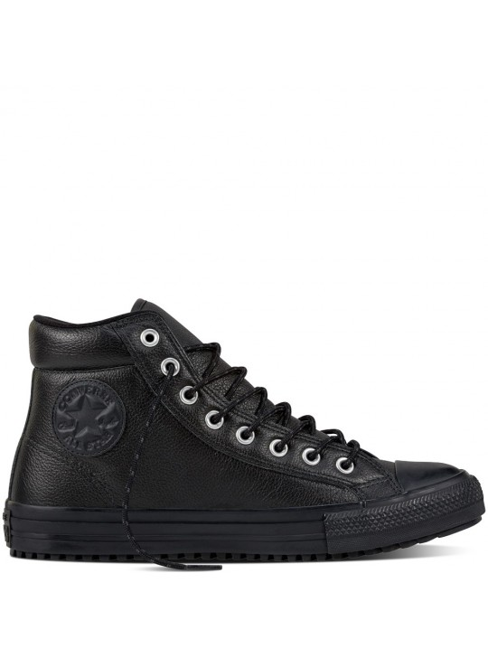 Converse Chuck Taylor Boot PC Tumbled Leather Black