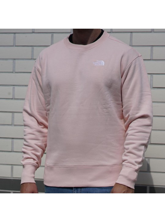 The North Face Unisex Over Es Crew Evening Sand Pink