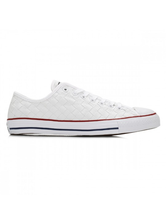 Converse Mens White Chuck Taylor All Star Woven Canvas Trainers