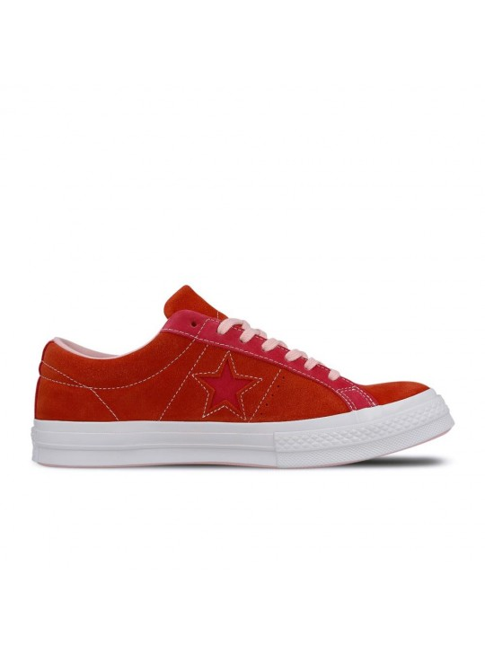Converse One Star Ox All Red Suede