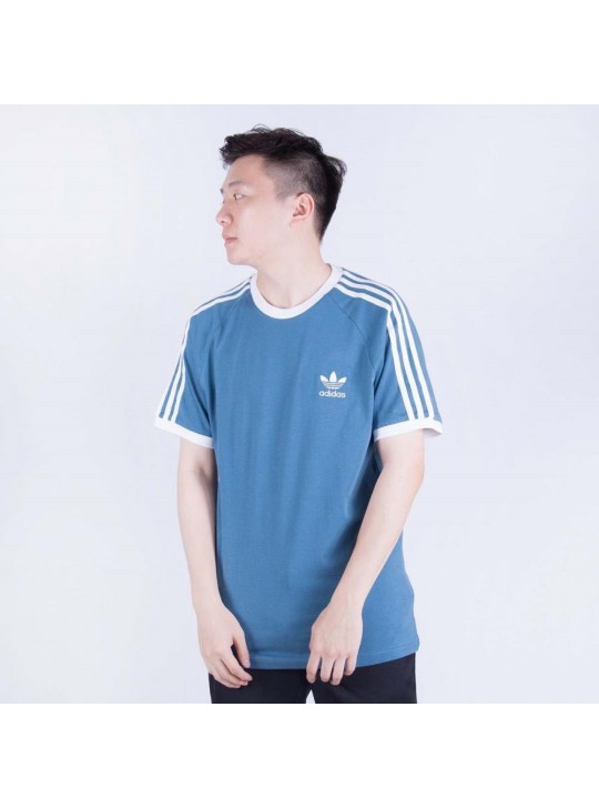Adidas Originals Men's Short Sleeve Blue T-Shirt