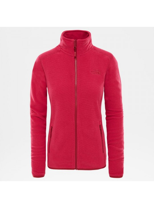 The North Face Womens W100 Glacier 1/4 Zip Pink Jacket