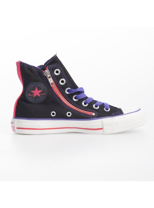 Converse CT Dbl Zip Hi Black