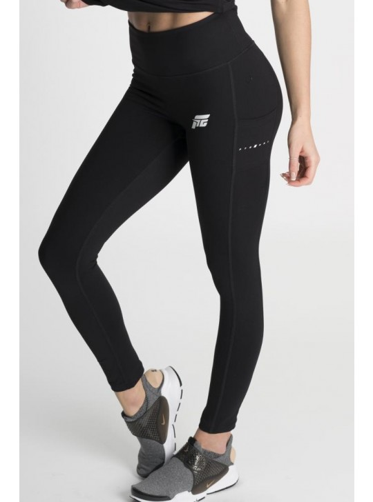 Feed The Gains FTG Women's Figure Leggings - Black