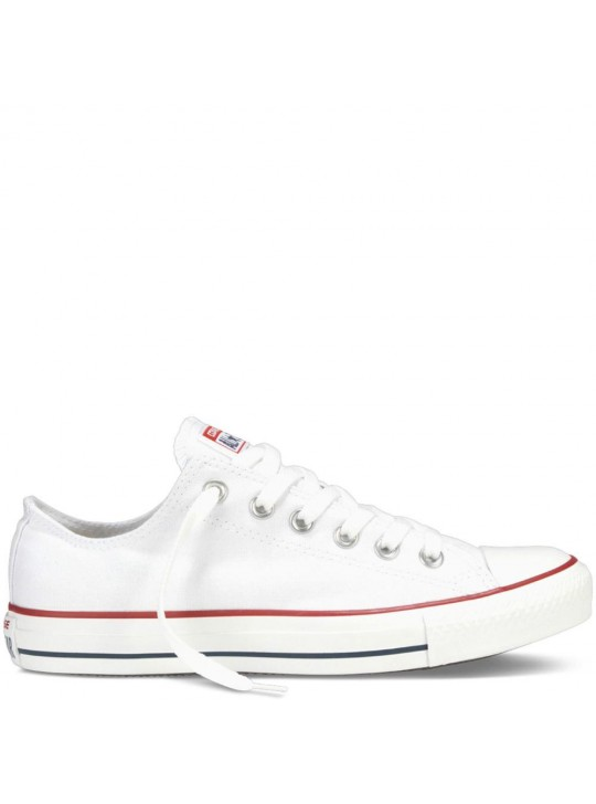 Converse Unisex Chuck Taylor All Star Low Tops Optic White  Trainers