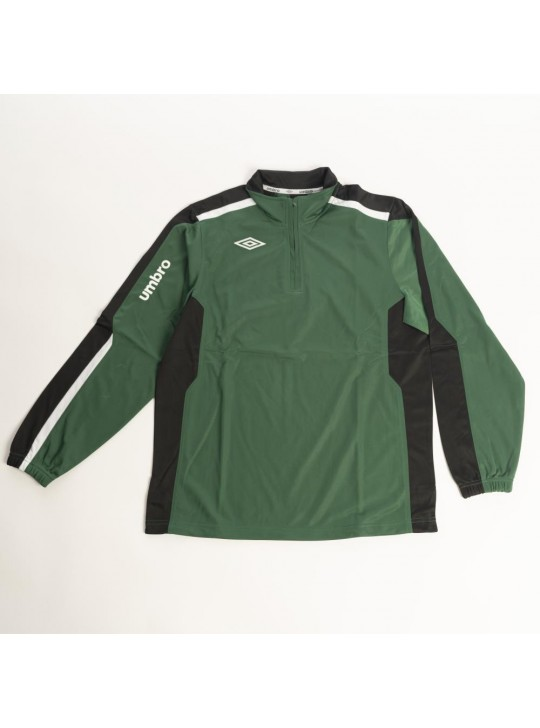umbro 1/2 Zip Sweatshirt Green/Black/White