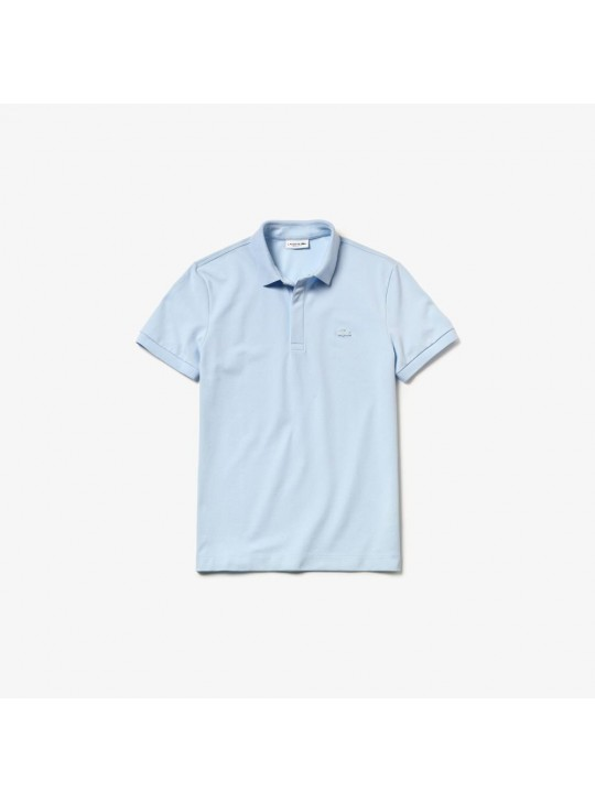 Lacoste PH5522 Colour Croc Light Blue Polo Shirt