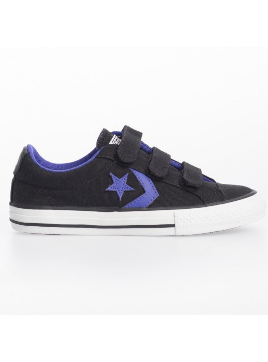 Converse Junior Star Plyr EV 3V Ox Black