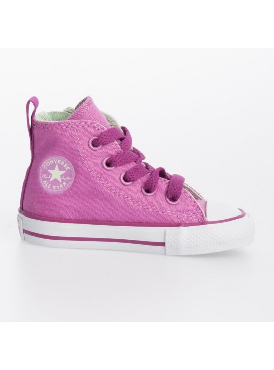 Converse Infant CT Side Zip Hi Pink