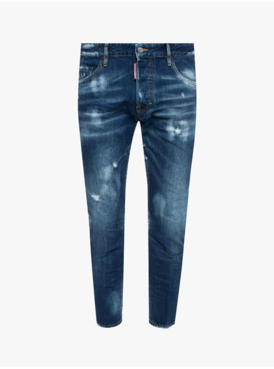Dsquared2 Mens Skater Jeans Navy
