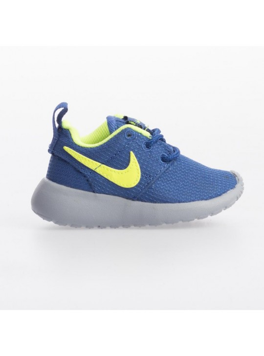 Nike Infant's Blue Roshe Run  Print Trainers