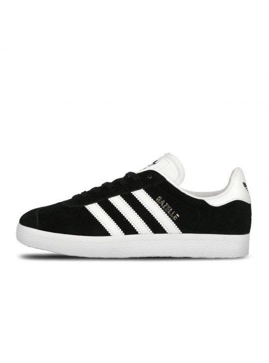Adidas Mens Gazelle Black Trainers