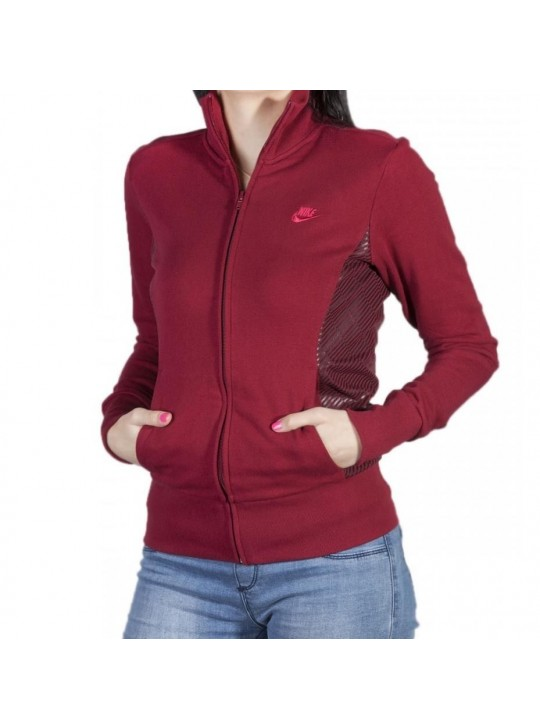 Nike Women's Full Zip Funnel Neck Jacket