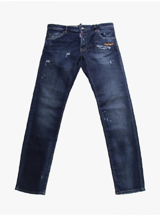 Dsquared2 Mens Cool Guy Jeans Navy