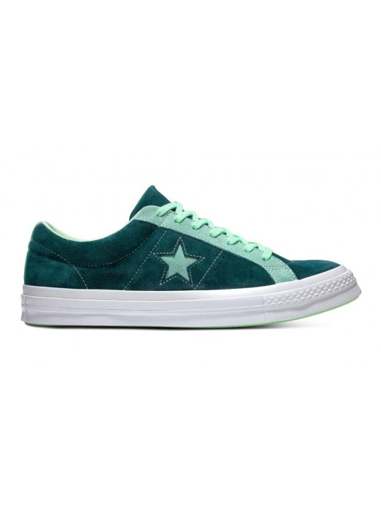 Converse One Star Carnival Green