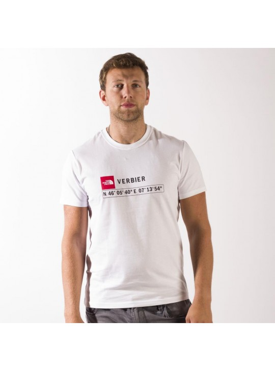 The North Face T-Shirt-White-Verbier