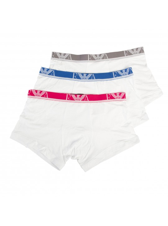 Emporio Armani Men's Trunk Boxers 3 Pack